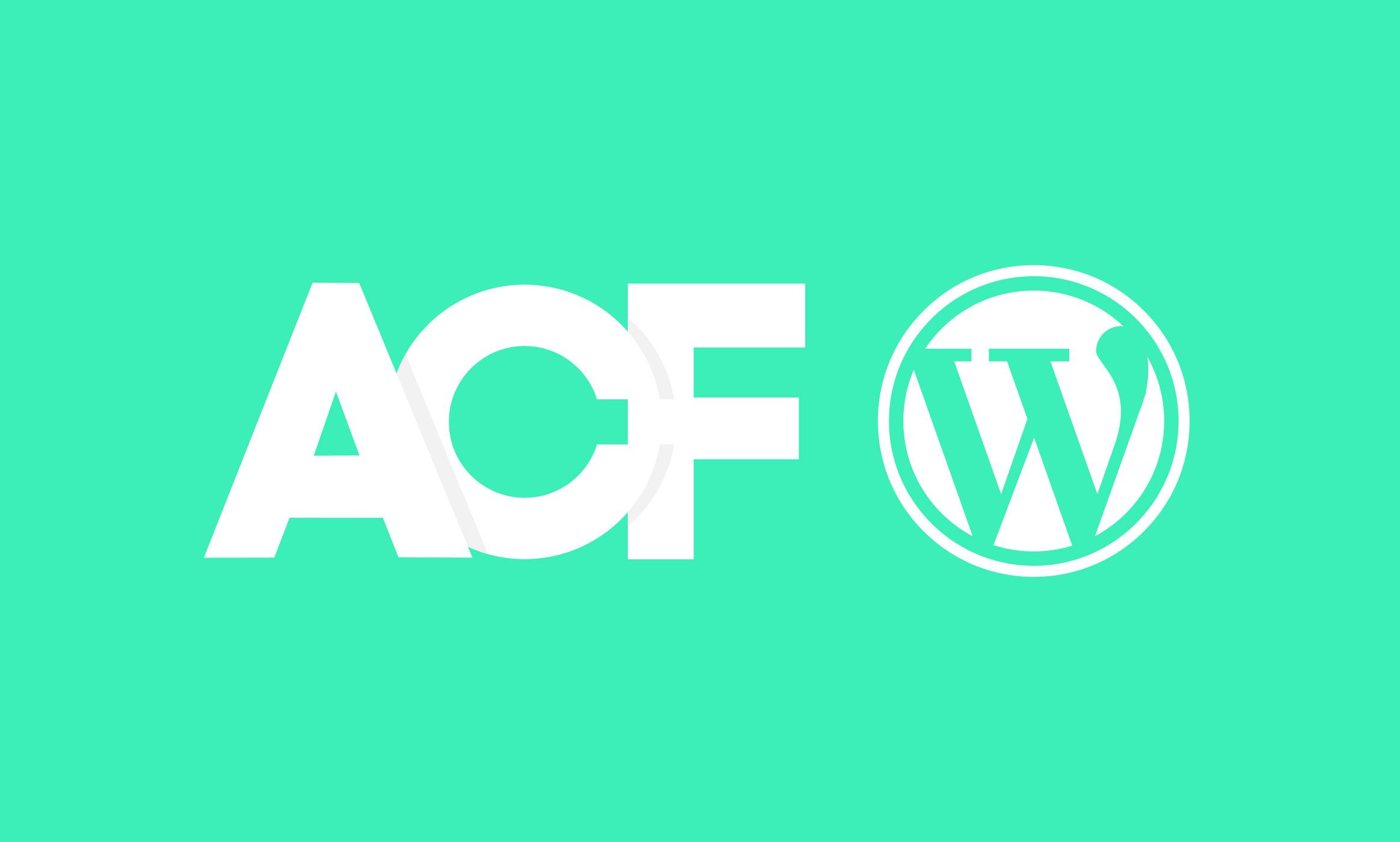 ACF Wordpress