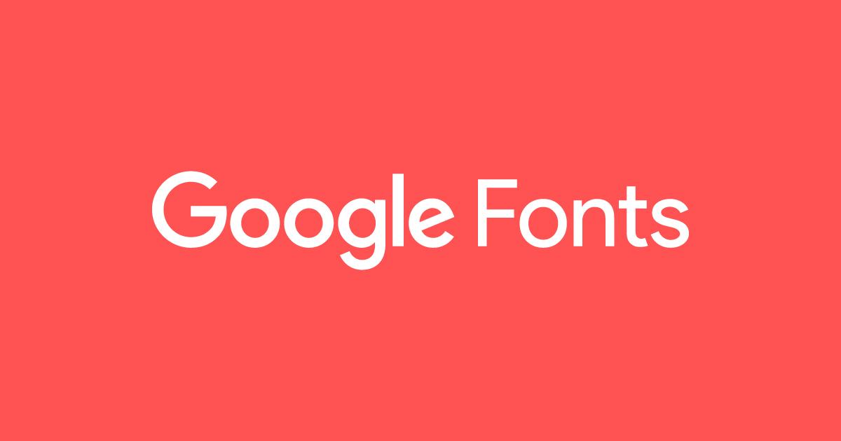 Google Fonts Logo Badge