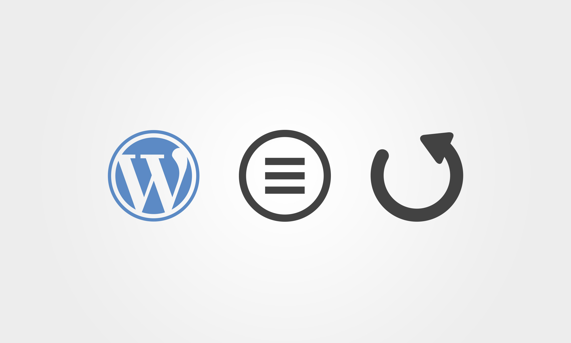 WordPress Menü aktualisieren