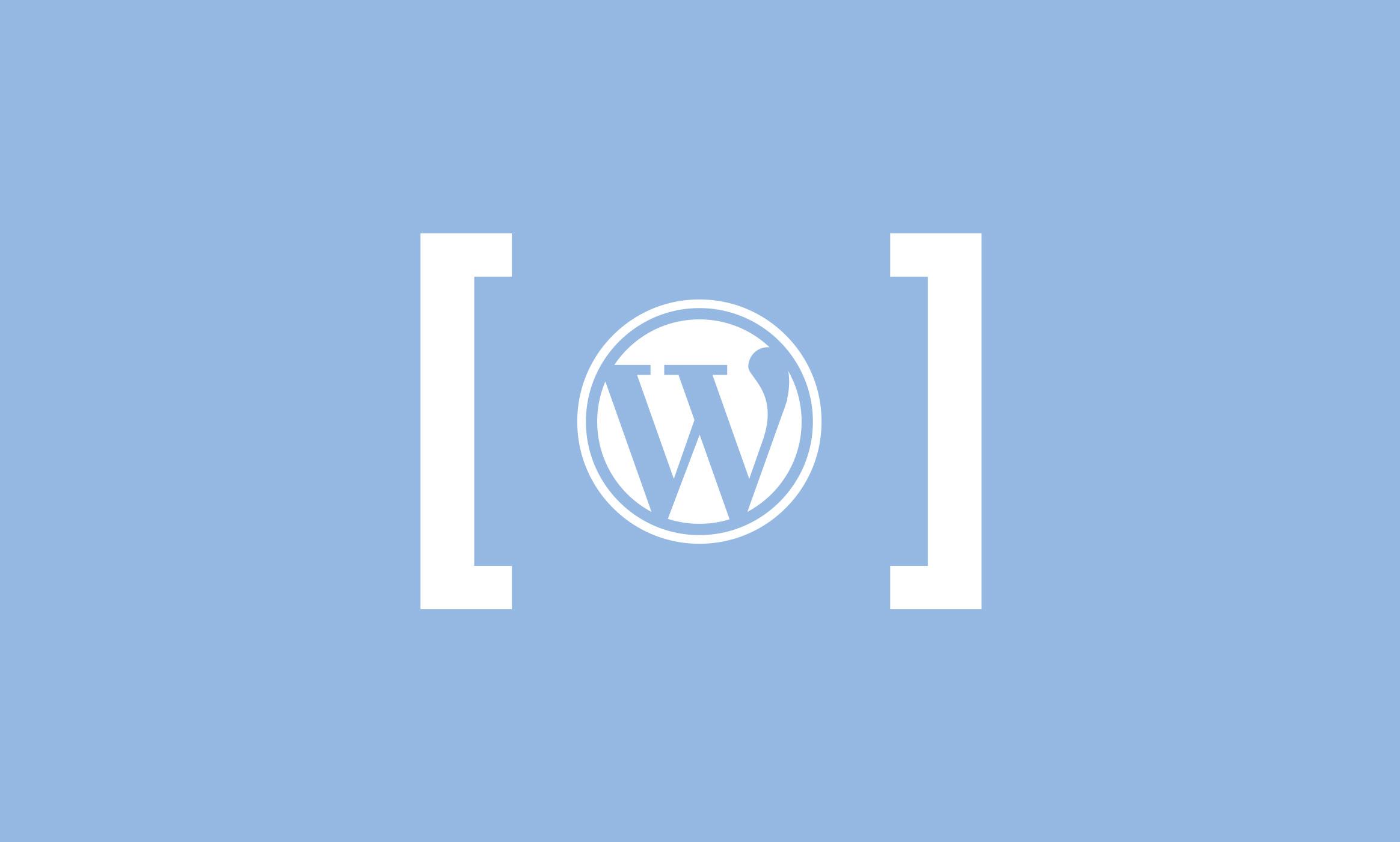 WordPress Shortcode